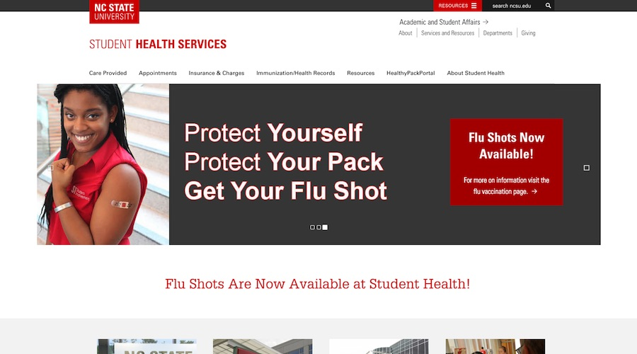 NC State Student Health Center